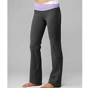 Lululemon Astro Pant Grey/Purple/White - 4